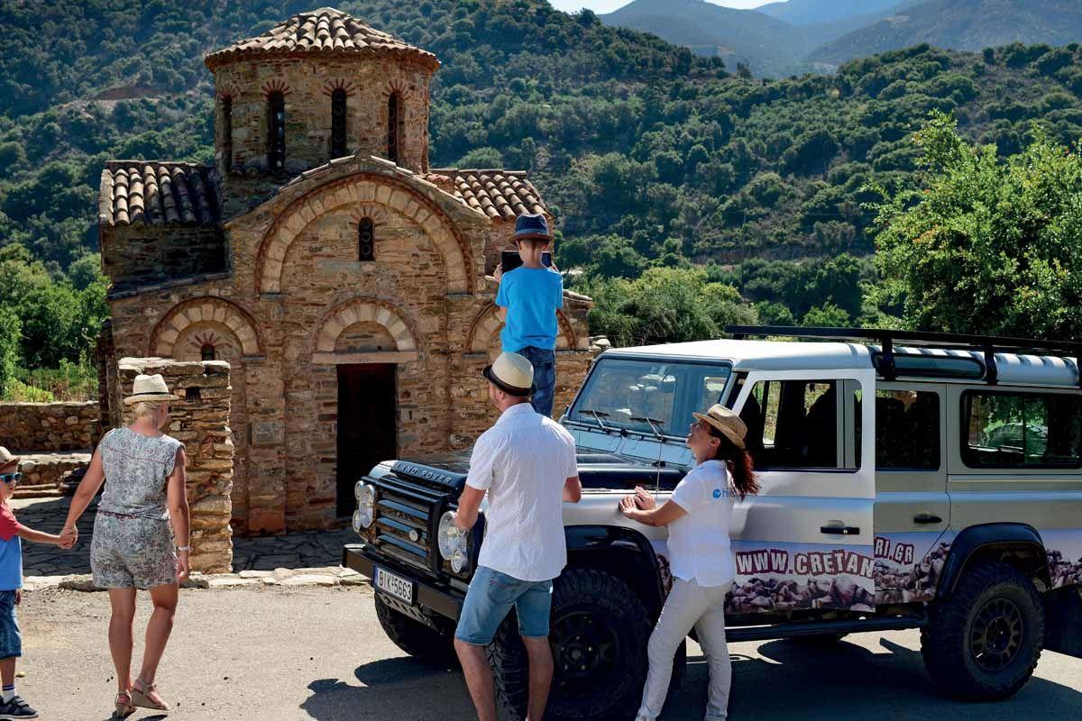 Circuit Échappée Crète insolite depuis le Club Héliades Atali Grand Resort 4*