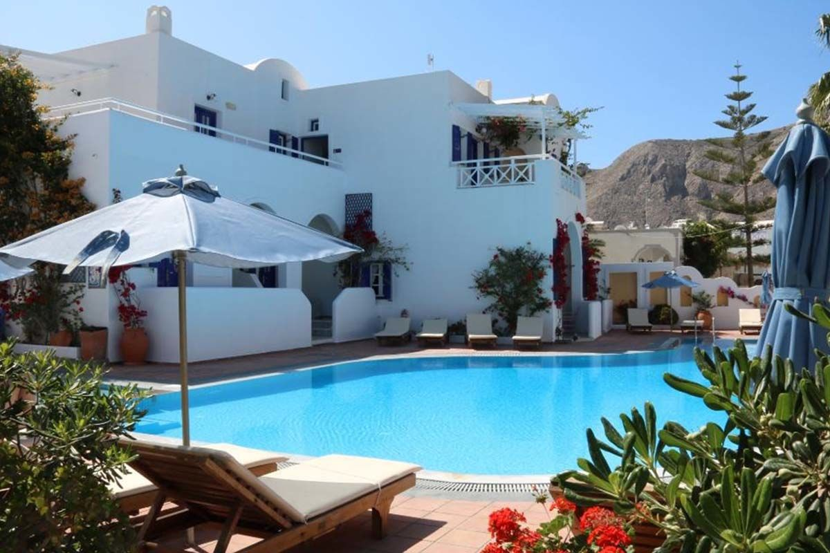 Club Héliades Kouros Village 4* - Arrivée Santorin