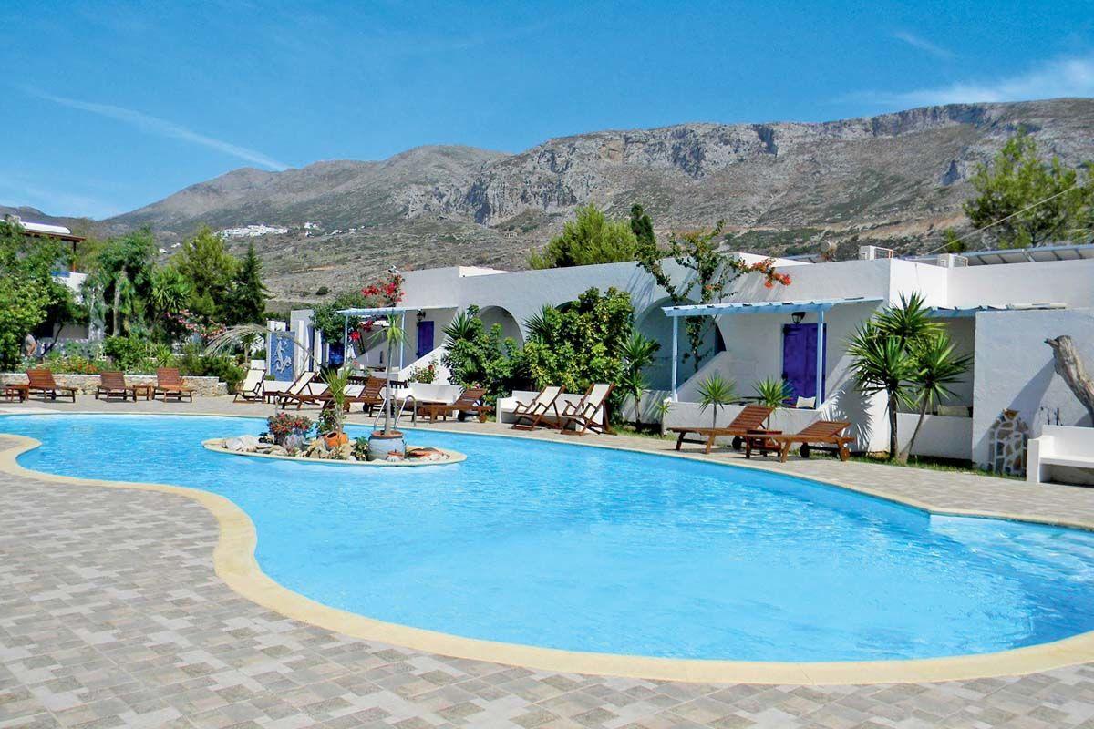 Club Héliades Lakki Village 3* - arrivée Santorin