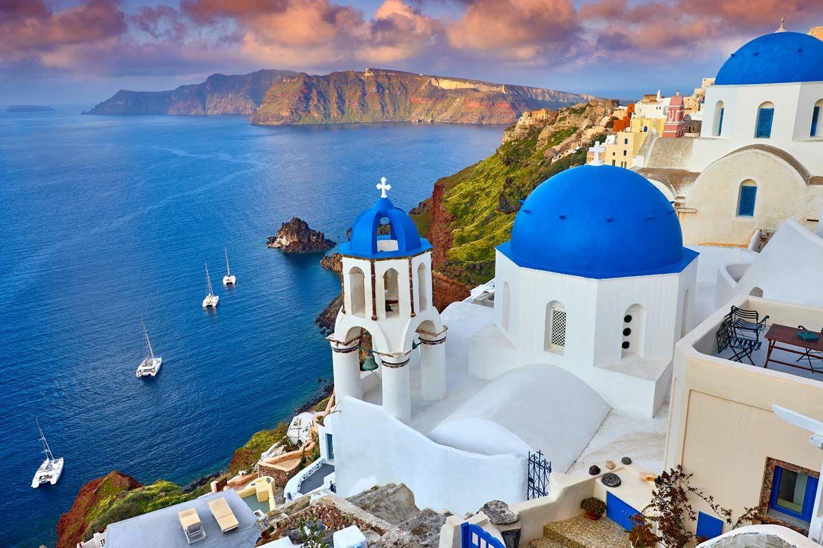 Combinés dans les Cyclades depuis Santorin - Santorin et Mykonos en hôtels 4*