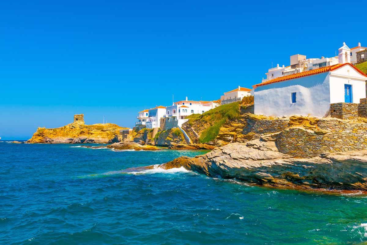 Combiné dans les Cyclades depuis Athènes - Andros, Tinos et Syros en 4*