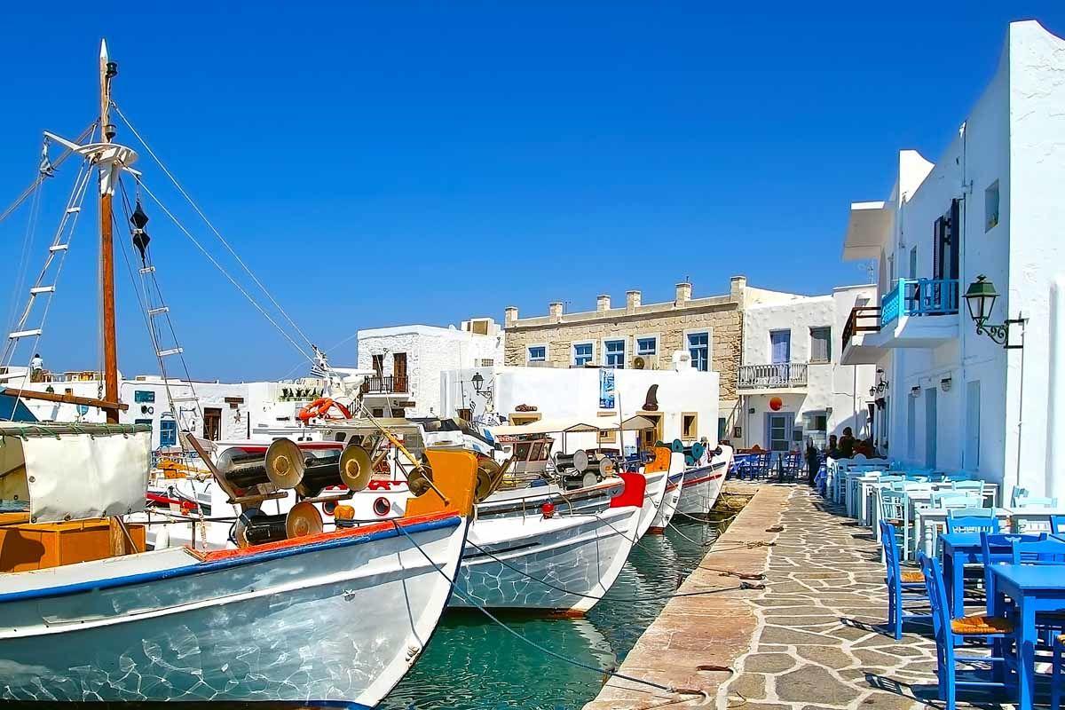 Combiné dans les Cyclades depuis Santorin - Santorin, Mykonos, Naxos et Paros en 3*