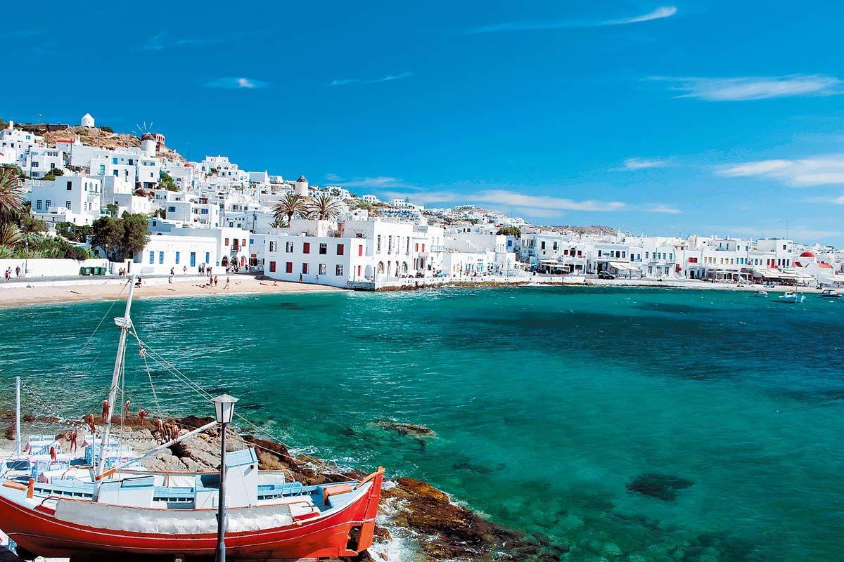 Combiné dans les Cyclades depuis Athènes - Mykonos, Paros et Santorin en 3* - 1