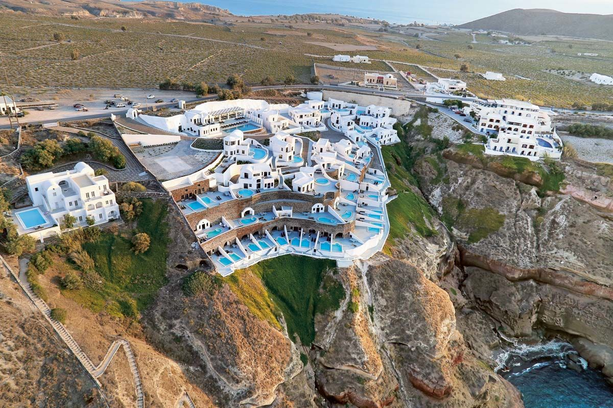 Ambassador Aegean Luxury Hotel & Suites 5* - arrivée Santorin