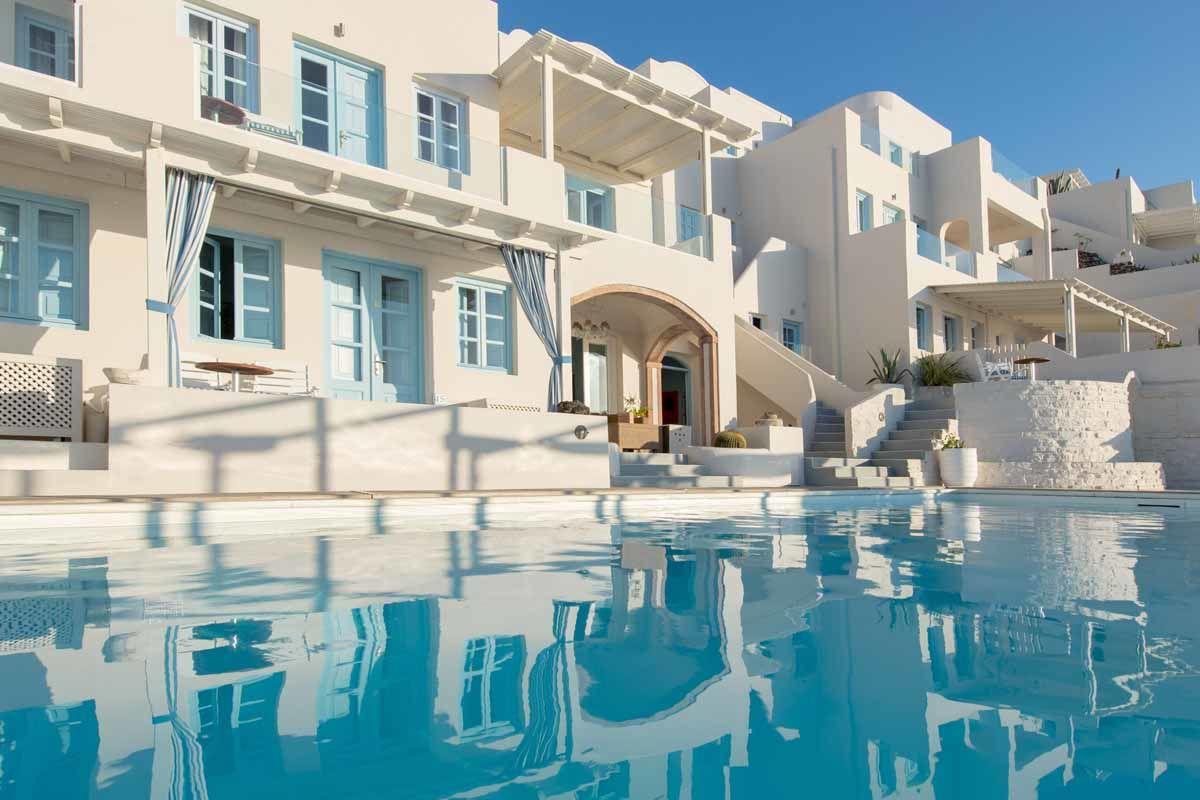 Andromeda Villas & Spa Resort 4* - arrivée Santorin