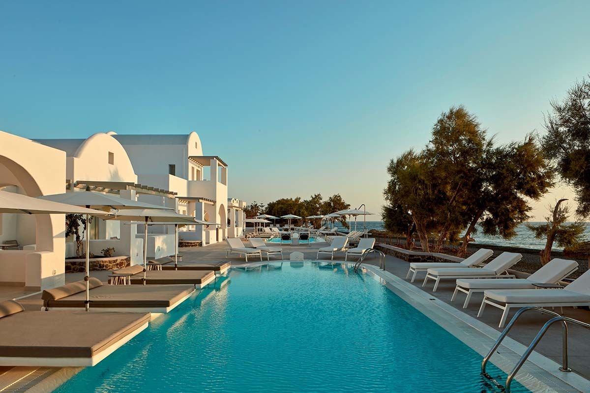 Costa Grand Resort & Spa 5* - arrivée Santorin