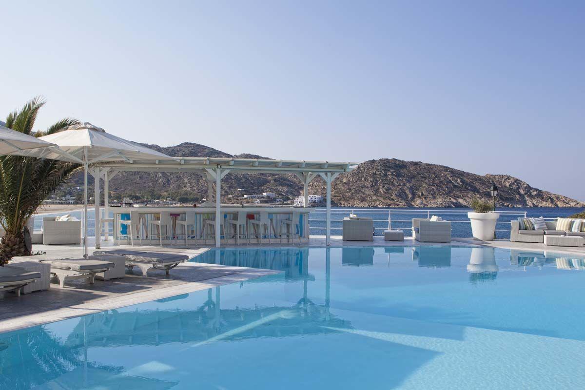 Ios Palace & Spa 4* - arrivée Santorin