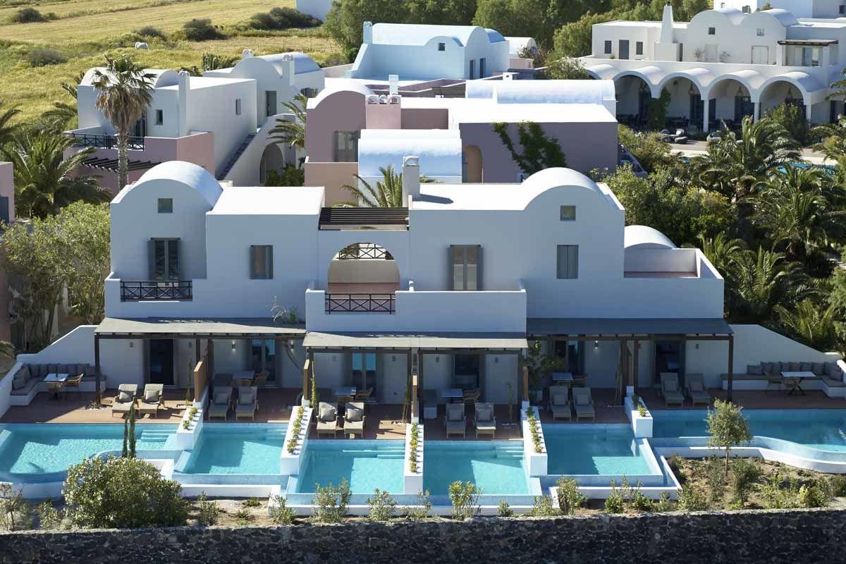 9 Muses Santorini Resort 5* - arrivée Santorin
