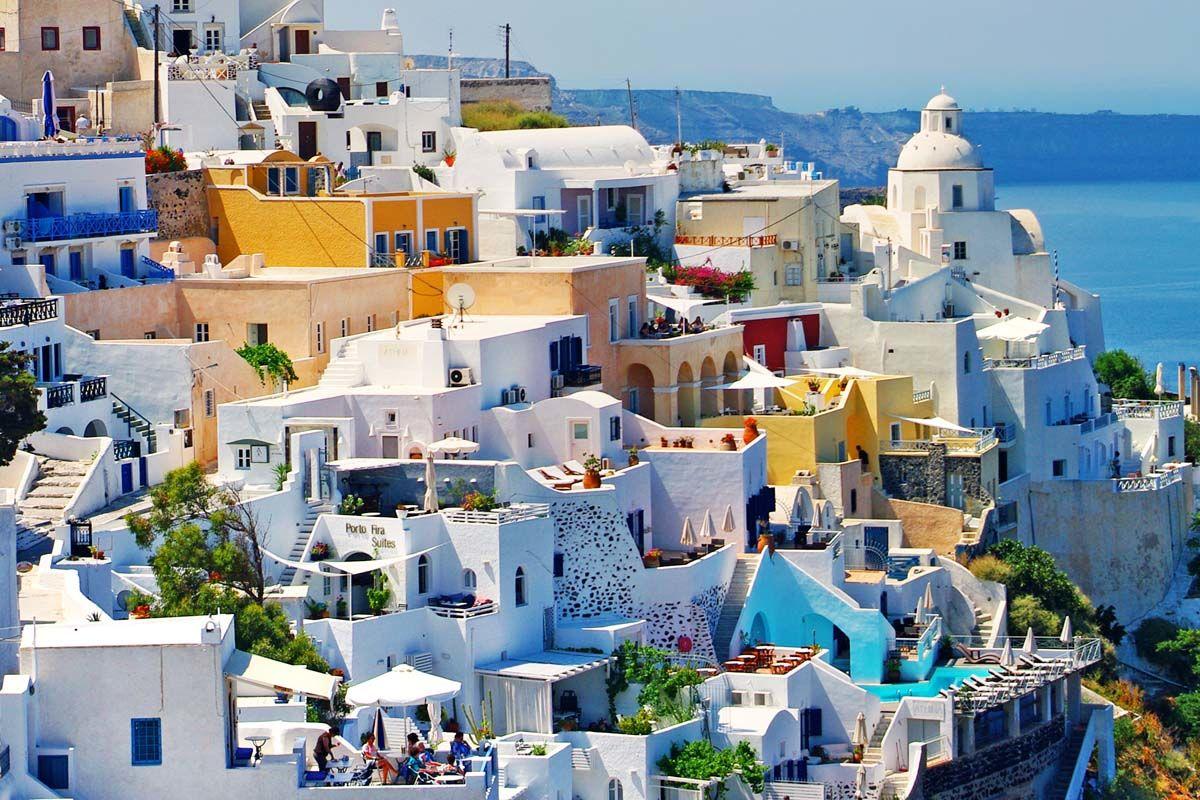 Combiné dans les Cyclades depuis Athènes - Paros et Santorin en hôtels 3*