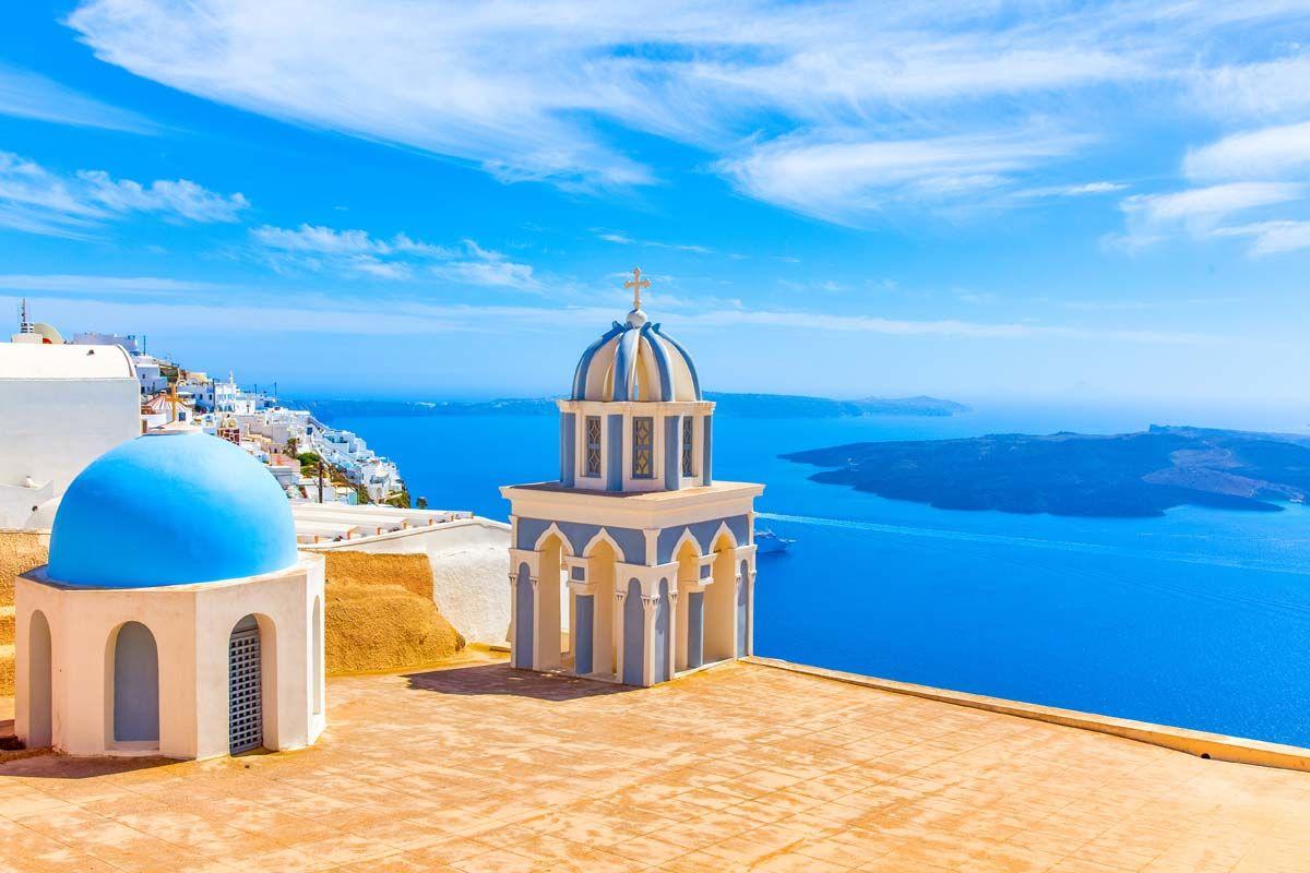 Combinés dans les Cyclades depuis Santorin - Santorin, Naxos, Amorgos, Paros en 3*
