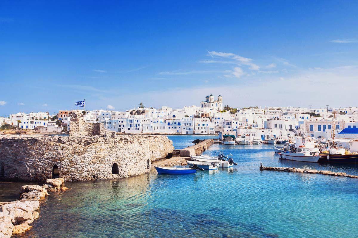 Périple dans les Cyclades depuis Athènes - Mykonos, Paros et Santorin en 4*
