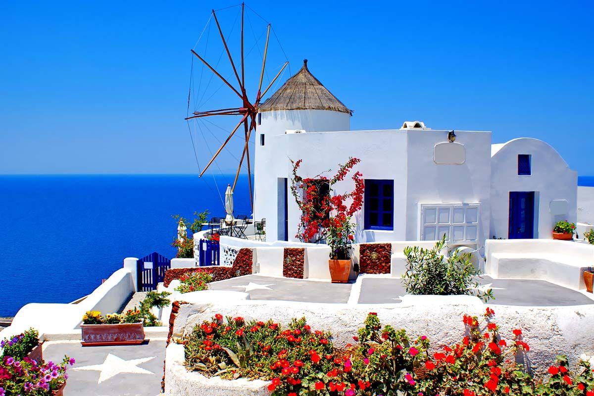 Périple dans les Cyclades depuis Athènes - Mykonos, Paros et Santorin en 3*