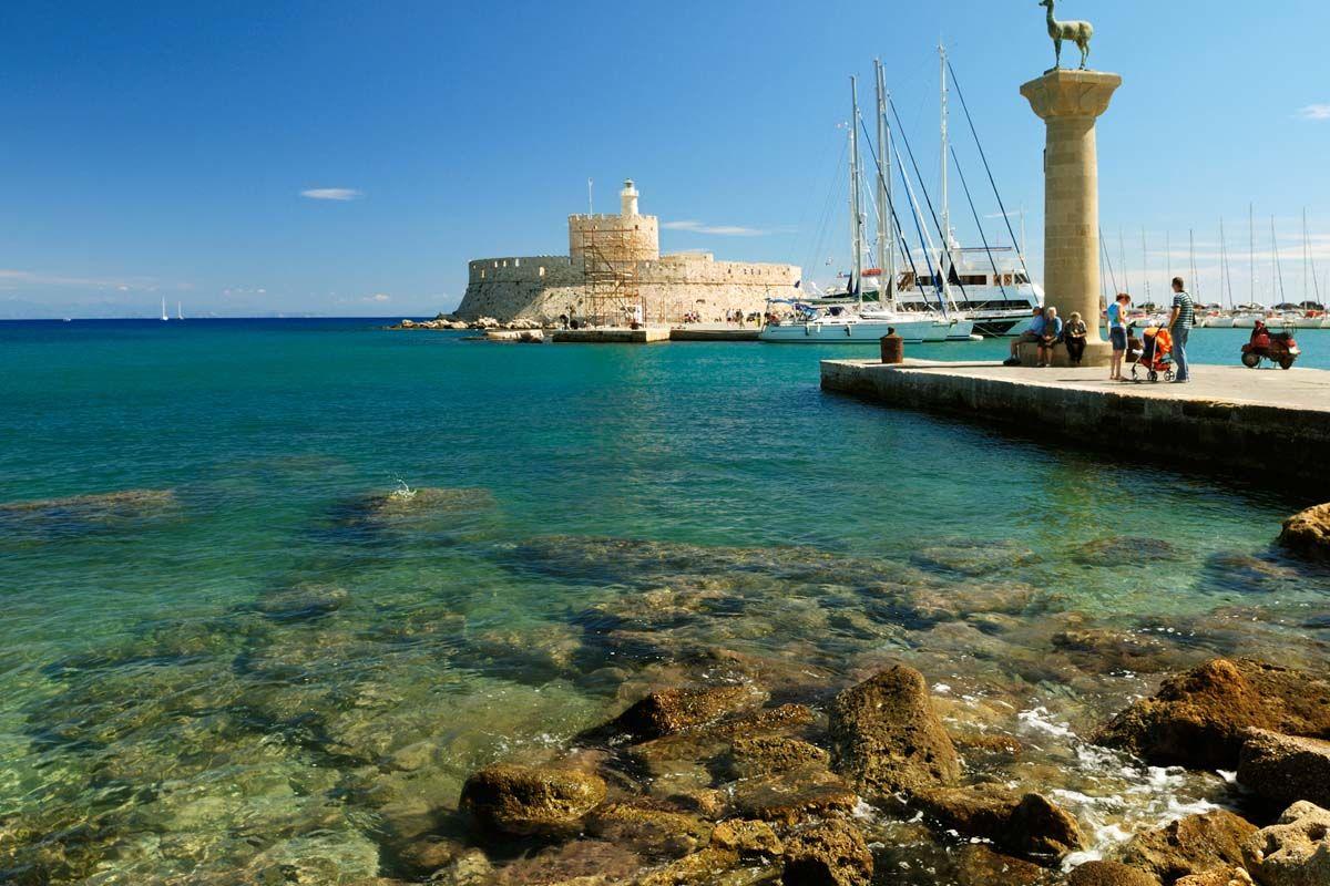 Combiné dans les îles du Dodécanèse - Rhodes et Symi