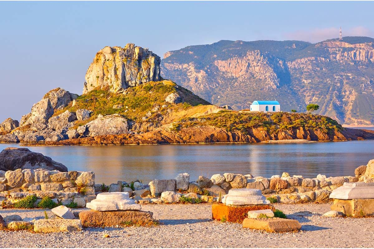 Périple depuis Rhodes 2 îles en 1 semaine - Rhodes et Kos en 3*