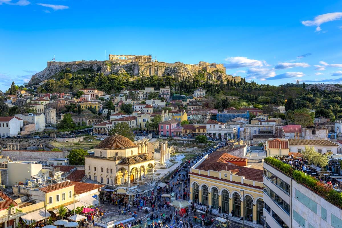 Escapades à Athènes depuis l'hôtel Candia 4*
