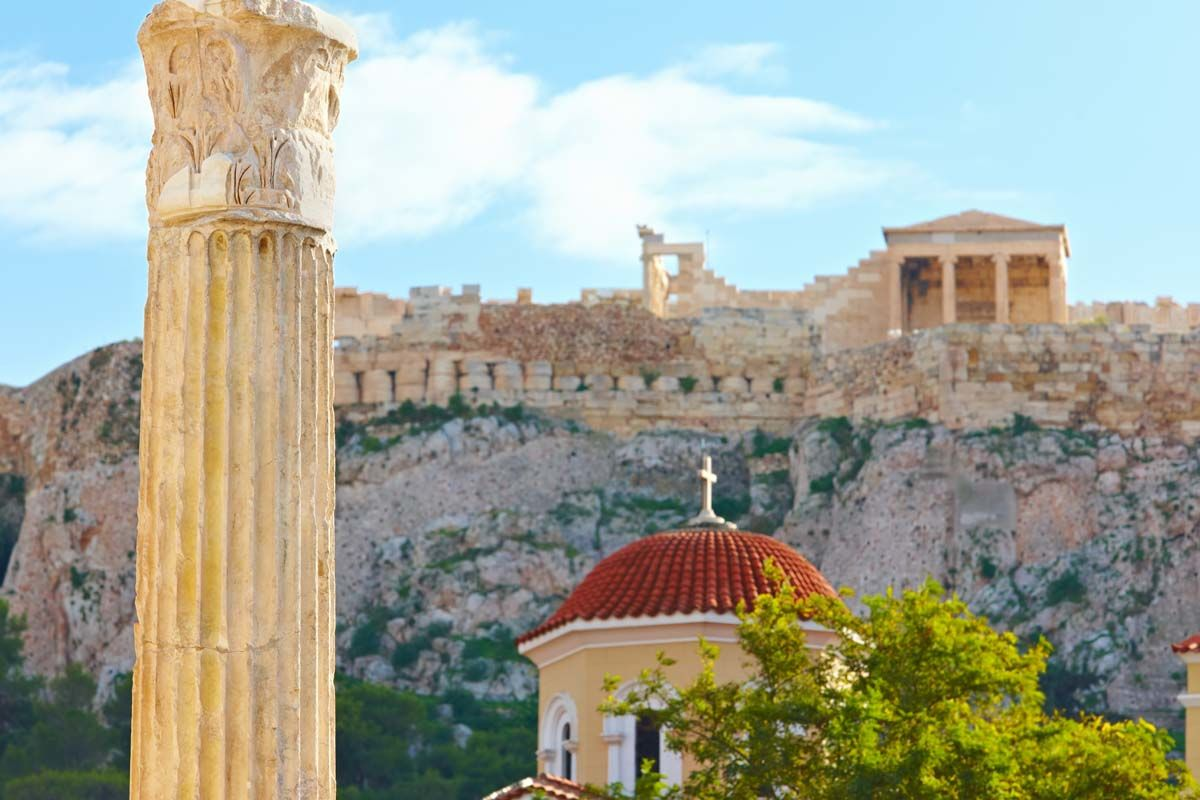 Escapades à Athènes depuis l'hôtel Novotel 4*