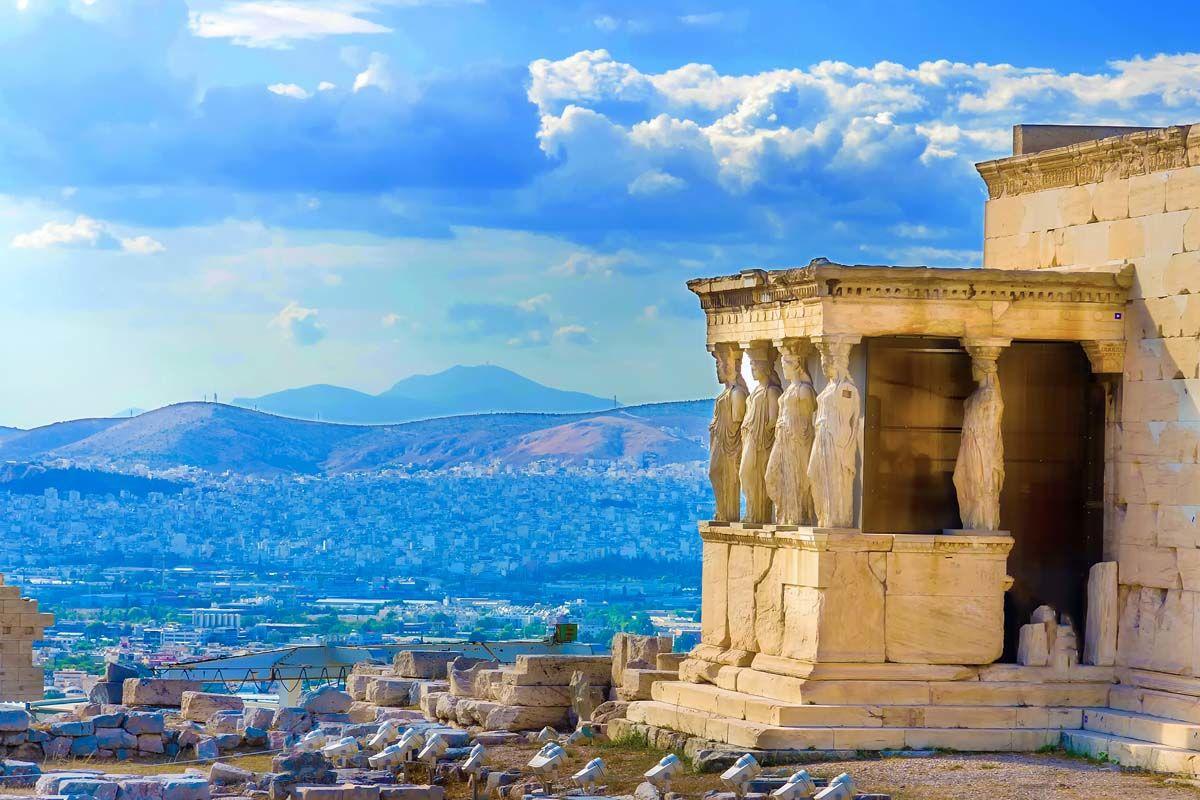 Échappée athénienne depuis l'hôtel Parthénon 4*