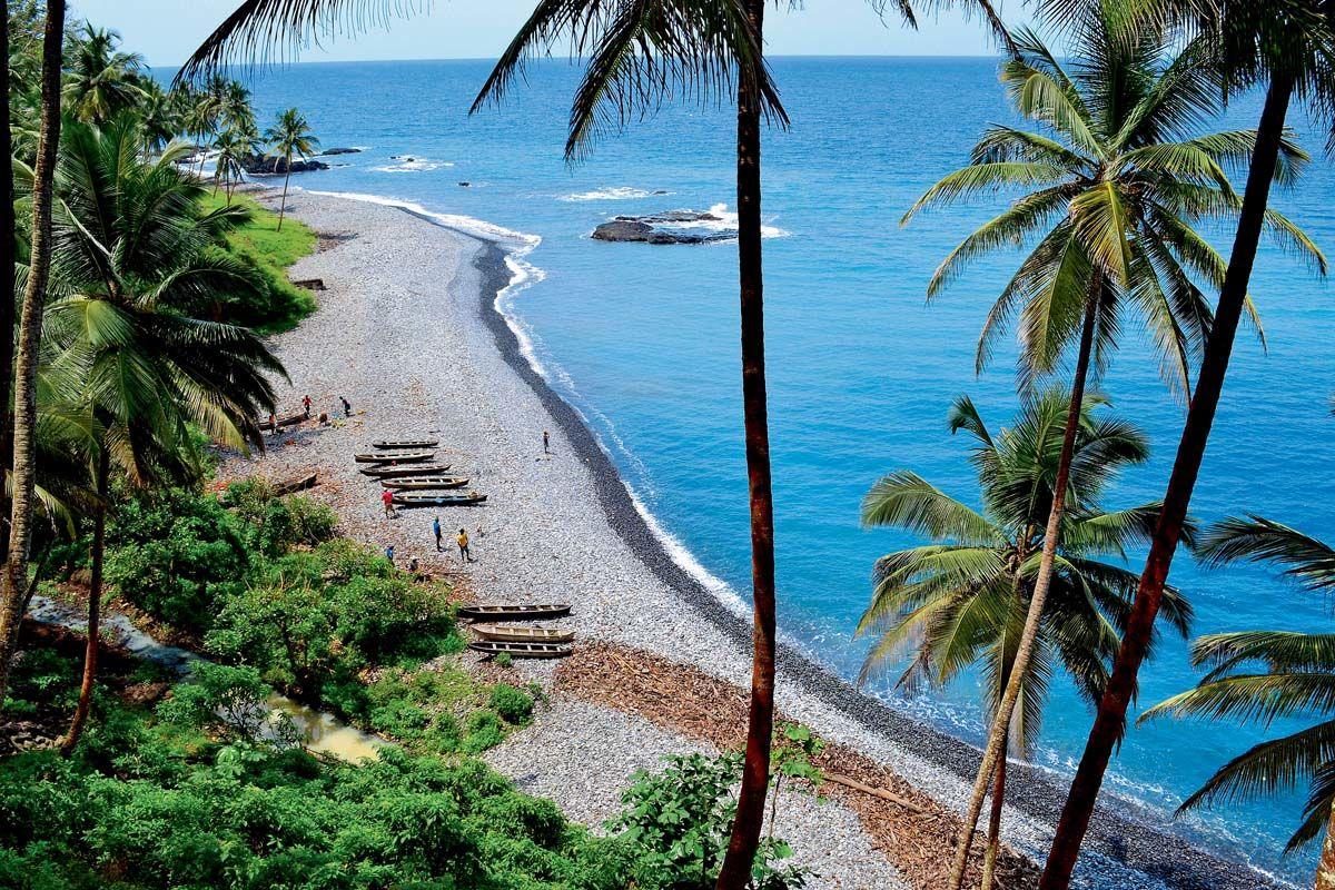 Échappée depuis São Tomé depuis l'hôtel Praia 4*