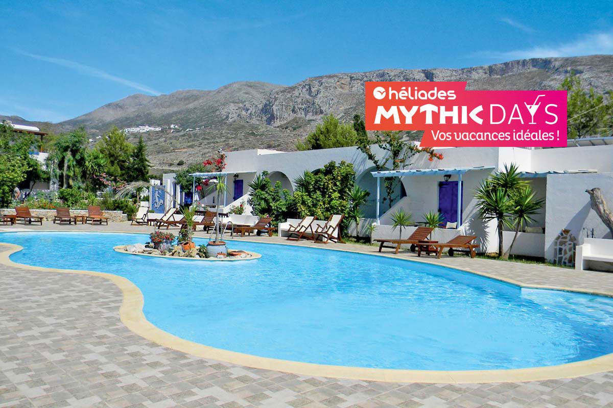 Club Héliades Lakki Village 3* - arrivée Athènes